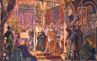 Koronacja Bolesława Chrobrego - obraz