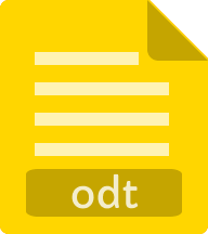 ODT document icon